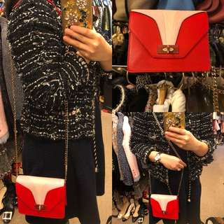Nearly New Givenchy red leather small bag