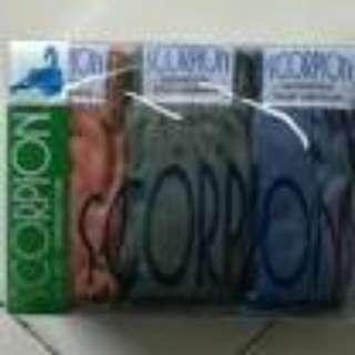 Celana dalam cwo Scorpion S,M,L,XL