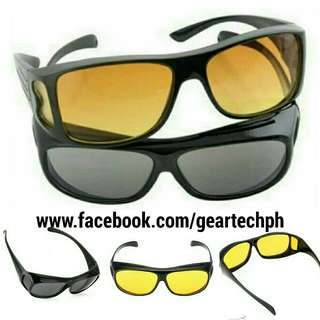 UV Protection shade, HD Vision, Night View Glasses