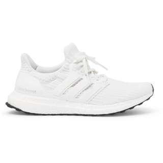 Adidas UltraBoost Primeknit Sneakers Triple White 4.0