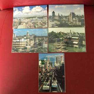 China stamp 邮政明信片as in picture—5 Pieces