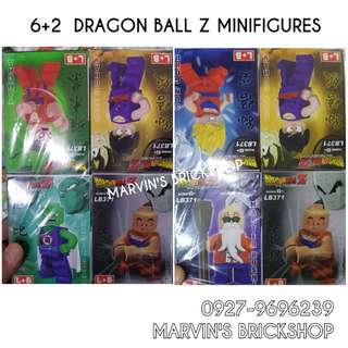 For Sale Dragon Ball Z 6+2 Minifigures