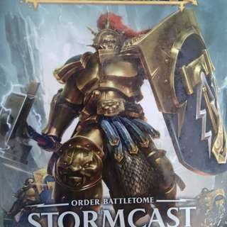 Warhammer Age of Sigmar Stormcast Eternals Battletome (sealed)