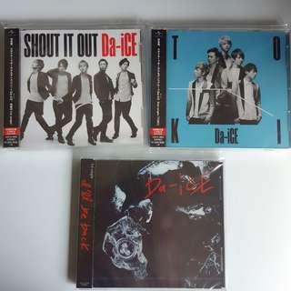 Da-iCE - 3 CDs