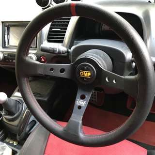 Original OMP deep dish steering
