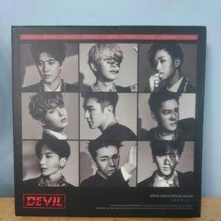 Super Junior 《Devil》淨專 僅拆
