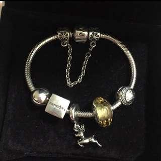 Pandora bracelet charms 925 sliver