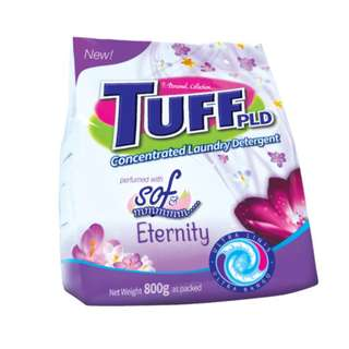 Tuff Powder Laundry Detergent with Eternity 800g