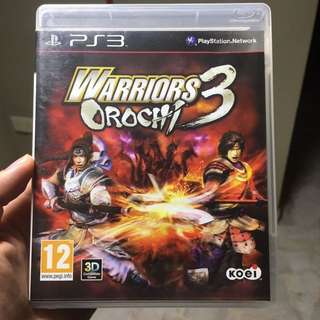 Warriors Orochi 3 PS3 Game