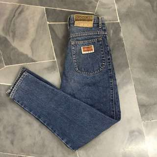 Authentic Goggles vintage highwaisted jeans #SpringClean60