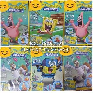 For Sale Sponge Bob 4+2 Minifigures