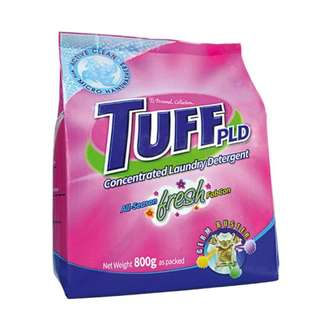 Tuff Powder Laundry Detergent Active Clean 800g