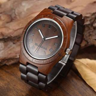 WOODEN WRISTWATCH for Men WITH BOX