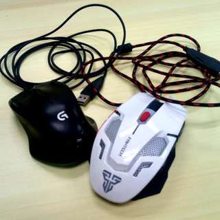 2x Gaming Mouse