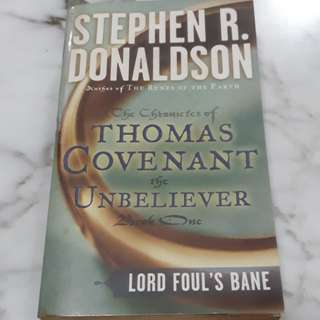 The Chronicles of Thomas Covenant the Unbeliever Book 1