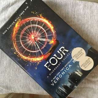 four by veronica roth (hard bound)