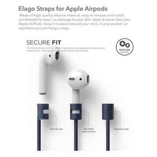 Elago AirPods Strap for Apple AirPods (Jeans Indigo)