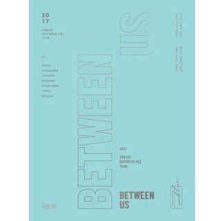 [Pre-order] CNBLUE 2017 [BETWEEN US] TOUR DVD
