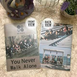 [READYSTOCK]BTS YNWA Notebook