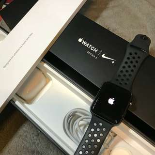 Apple Watch Nike + Serena 3 42mm black col