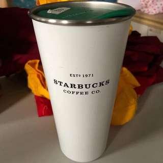 Starbucks Tumbler White