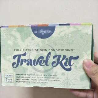 1/2 PRICE Alexandria Skin Conditioning Travel Kit