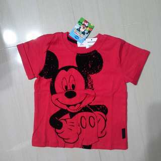 Brand NEW Boys Disney Mickey Tee