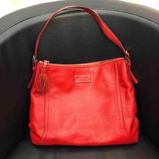 AUTH. KATE SPADE FULL LEATHER
