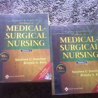 Medical Surgical Nursing (vol.1 & vol.2) 10th editon