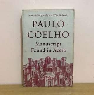 Paulo Coelho's Manuscript Found in Accra