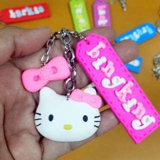 Hello kitty Car Keychain
