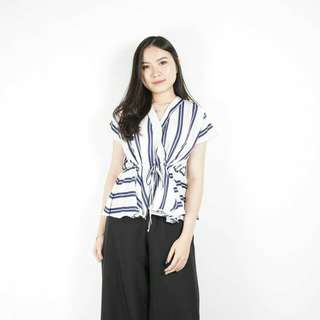 Stripe Cona Blouse