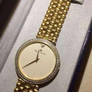 Gold and Diamond Genuine Maurice Lacroix Of Switzerland Ladies watch