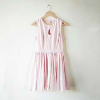 Pink Dress by LOVE BONITO