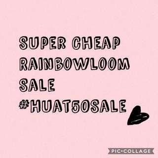 #Huat50Sale Super Cheap Rainbowloom Sale