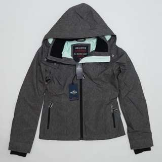 HOLLISTER - All-Weather Stretch Fleece-Lined Jacket