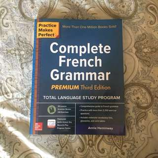Practice Makes Perfect Complete French Grammar + FREEBIE