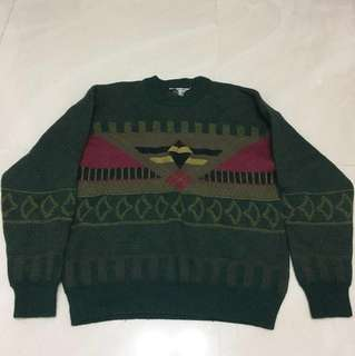 Vintage 100% wool sweater S size