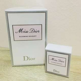 Miss Brand New Dior Blooming Bouquet 100ml with PRESENT (pocket size perfume)