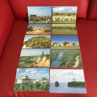 China stamp 邮政明信片as in picture — 10 pieces