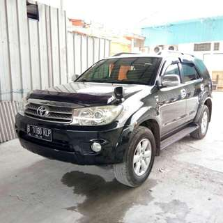Toyota fortuner dsl 2.5 G AT