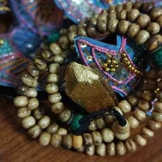 Tibetan Yak Bone Mala from Kathmandu