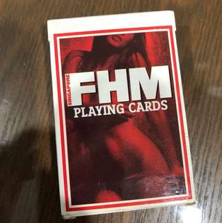 2007 FHM Magazine Playing Card
