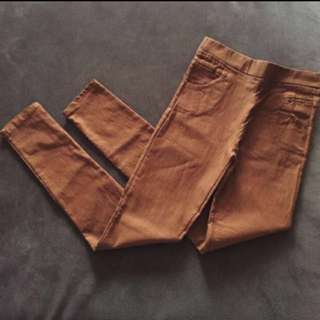 Brown Jeggings/Pants