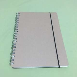 MUJI Dotted Notebook