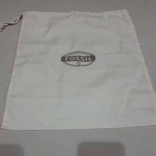 AUTHENTIC FOSSIL DUST BAG 37CMx33CM