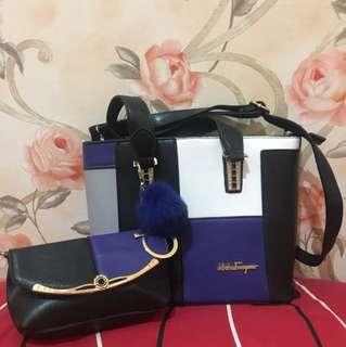 Elegant Blue Bag