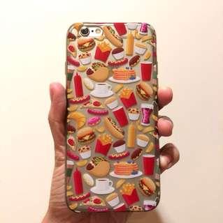 Super Cute Food Design iPhone 6 Plastic Case