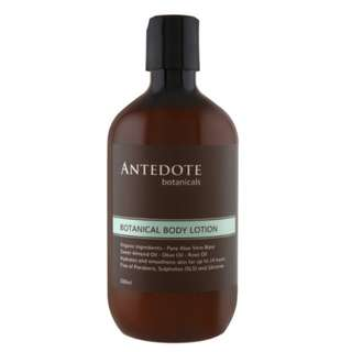 BN Botanicals body lotion for post partum recovery