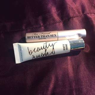 Better Than Sex Mascara And VS Mint Lipgloss (BUNDLE)